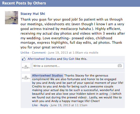Testimonial by Andy and Stacey